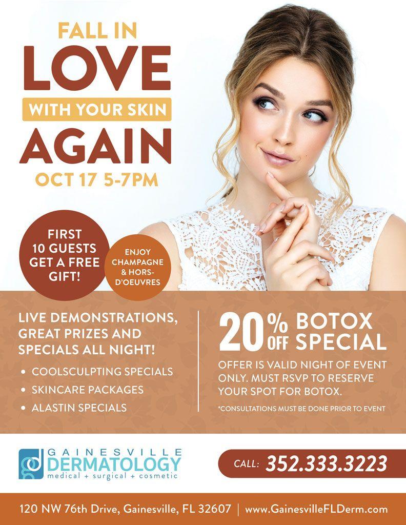 Gainesville Botox & Skin Surgery Specials